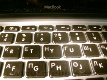 Лазерная гравировка клавиатуры ноутбука